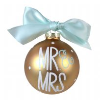 Cotton Colours Mr & Mrs 10cm Christmas Bauble